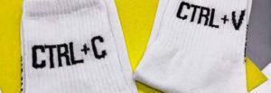 Носки с принтами оптом